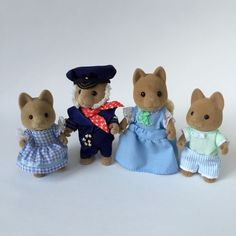 Sylvanian Families Seadog Tan Dog Family Figures HTF RARE Set Highly Collectible | eBay