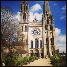 Chartre Cathedral. All that sacred mythology and story.