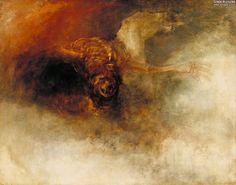 J.M.W. Turner: Death on a pale horse, 1825. Oil on canvas, 59.7 x 75.6 cm. Tate Britain, London