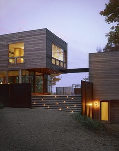 Fire Lane Retreat - contemporary - exterior - chicago - by Wheeler Kearns Architects