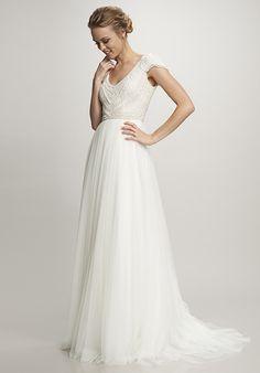 THEIA Nima A-Line Wedding Dress