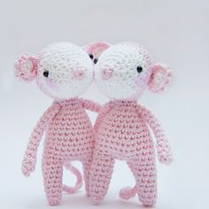 Mouse - free crochet pattern