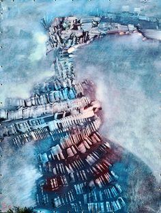 """""""Babel"""" obraz oryginalny, dostępna tylko jedna sztuka. Autor: Maciej Durski Technika: olej Rok 2017 ENG """"Babel"""" original painting, only one piece available. Author: Maciej Durski Technique: oil Year 2017"""