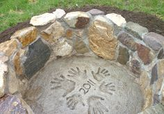 DIY fire pit, i want a raised fire pit instead of the weird hole in the ground we have now