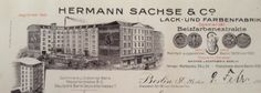 Ansicht der ehemaligen Fabrik in der Dresdener Straße 131 direkt am Kottbuser Tor / Berlin Kreuzberg im Jahr 1921