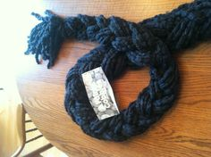 Scarf braiding is easy and fun with Patons Cobbles yarn.