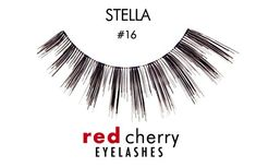 Red Cherry Stella Lashes Enhance your eyes with a pretty flutter! The easy way to achieve subtle but striking lashes, Red Cherry Stella Lashes are elega Red Cherry Eyelashes, Black Lashes, Fake Eyelashes, How To Remove, How To Apply, Natural Lashes, Beautiful Eyes, Makeup, Easy