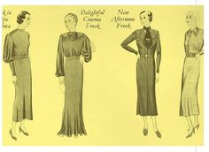 #ClippedOnIssuu from Fashions of a decade the 1930s