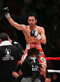 Boxing victory #sports