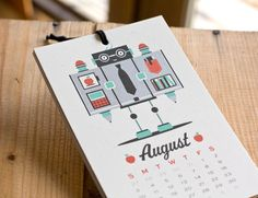 The Robot Calendar