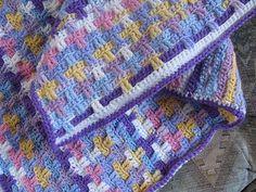 Ravelry: Scrap Afghan pattern by Glenda Winkleman