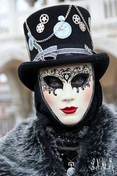 Fashion,Beauty,Landscape,Home Designe,Sexy Girls. Venice Carnival Costumes, Venetian Carnival Masks, Carnival Of Venice, Tatoo Steampunk, Masquerade Attire, Carnival Fashion, Painting Tattoo, Body Painting, Costume Venitien