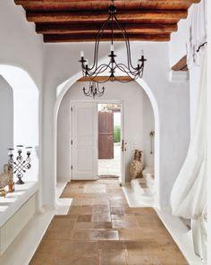 M e d i t e r r a n e a n Interior Architecture, Interior And Exterior, Adobe House, Earth Homes, Contemporary Bedroom, Apartment Interior, Interior Design Services, Modern House Design, Interior Inspiration