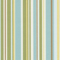 love the combination of colors in this fabric. it looks really fresh and inviting. either a boy or girl's nursery, I think.
