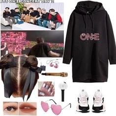 Kpop Fashion Outfits, Girl Outfits, Cute Outfits, K Pop, Bts Hoodie, Army Clothes, Bts Inspired Outfits, Mode Kpop, Bts Merch