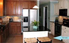 """""""after"""" a kitchen remodel for $5,000.  sounds too good to be true to me"""