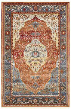 San Marcos Rust Red Area Rug In 2020 Red Area Rug Area Rugs Rugs