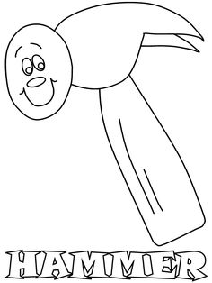 hammer2 construction coloring pages