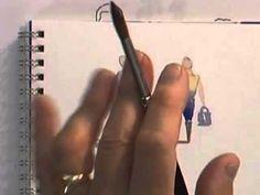 Watercolour Figures Lesson - Simplifying Figures (Part 1) - YouTube