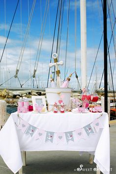 Sailboats Ahoy! It's A Nautical Party! - B. Lovely Events - B. Lovely Events