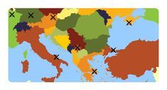 Battles of Europe quiz: an entertaining map game to learn about famous battles in European history, including the battle of Stalingrad, Verdun and Waterloo. Free resource for teaching geography, great for interactive whiteboard. World Geography Games, Teaching Geography, Europe Quiz, Battle Of Stalingrad, Map Games, Interactive Whiteboard, European History, Online Games, Play