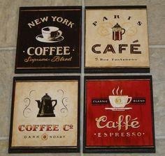 Coffee set Themes on Pinterest - Coffee Kitchen Theme Decor Sets