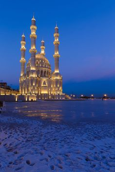 New mosque in Baku by Alexander Melnikov on 500px