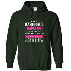 Baseball mom much cooler2 T Shirt, Hoodie, Sweatshirts - shirt outfit #tee #teeshirt