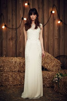 Betsy from Jenny Packham's Spring 2017 Bridal Collection