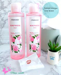 #roses #lotion tonique #Mamonde #hydratation #packaging glamour