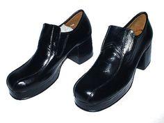 US Mens Platform Shoes Kozak Leather by on Etsy Mens Platform Shoes, Clogs, Trending Outfits, Unique Jewelry, Leather, Etsy, Vintage, Fashion, Clog Sandals
