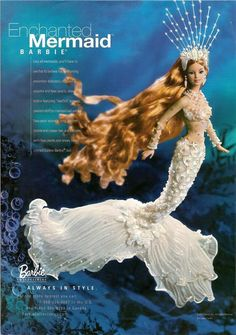Mermaid Barbie - I remember wanting this doll!