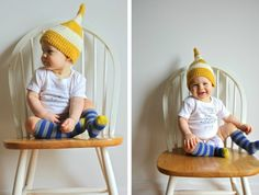 cute baby photos - love the gnome hat!