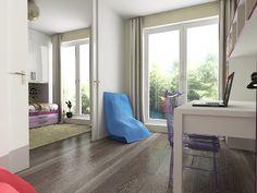 Návrh detskej izby CU-Interiors - Ideas of children room Oversized Mirror, Kids Room, Interiors, Architecture, Children, Furniture, Ideas, Design, Home Decor