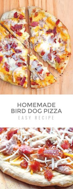 Craving pizza? Plan a pizza night at home. This Homemade Bird Dog Pizza Recipe will become your new favorite for pizza night. Watch it disappear right before your eyes, quicker than you can slice it up! Cheese Recipes, Pizza Recipes, Dinner Today, Recipe Sites, Honey Mustard, Hawaiian Pizza, Recipe Of The Day, No Bake Desserts, Bon Appetit
