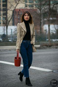 New York Fashion Week Fall 2017 Street Style: Jeanne Damas