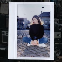 "@unretouched on Instagram: ""And in the middle of my chaos, there was you.📻 📺 🔊 📷  #fujifilminstax300 💙 @vickyco12 Photographer: @zuparino"" Fujifilm Instax, The Middle, Polaroid Film, Instagram"