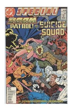 The Doom Patrol and Suicide Squad Special #1 (Mar 1988, DC) - FVF