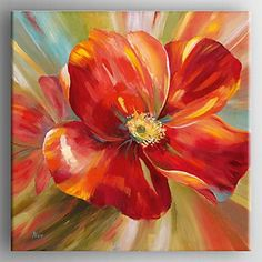 Αποτέλεσμα εικόνας για modern flower oil paintings