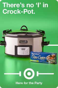 Assembling the perfect Crock-Pot for the biggest party of the year is a team sport. Your famous chili, Velveeta cheese dip, slow-cooked chicken wings, pulled pork sliders…it's all hands on deck! So call up you're A-Team, toss in the goods and get your party on together.