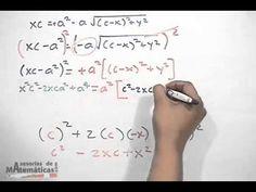 Demostración de la ecuación de la elipse con centro en el origen - Horiz...