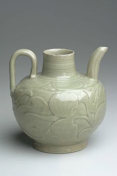 Ewer, Yaozhou ware, Song dynasty, 10th-11th century