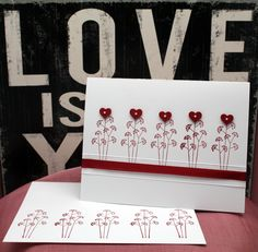 Papyrus hearts - Valentine 2013 (front)