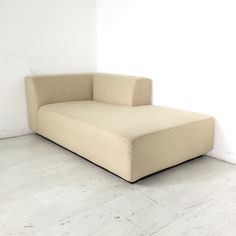 "Winfred Chaise Lounger. - Beige chaise lounger- Chaise lounger features a contemporary design- Made by West Elm- Seat height measures at 15""- Normal wear and tear- Good condition"