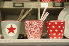 stars red by algoespecialbcn.blogspot.com greengate