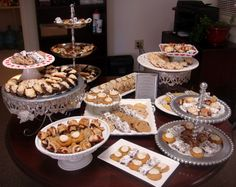 cookie display ideas   Yushan's blog: 20 Ideas For Themed Wedding Favors Serious formal used ...