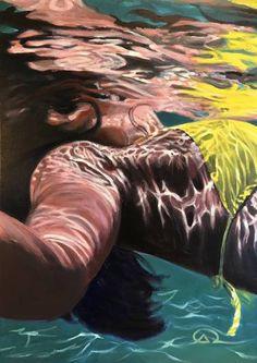 "Saatchi Art Artist Antoine Renault; Painting, """"Yellow submarine"""" #art"