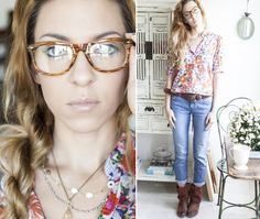 Perfect Brows, Makeup for Glasses + a Sigma Brushes Giveaway! #offbeatandinspired