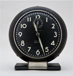 Henry Dreyfuss, Big Ben clock, 1938. Made by Westclox, Illinois, USA. The Wolfsonian