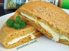 Receita de pãozinho saudável de amendoim feito com apenas 3 ingredientes